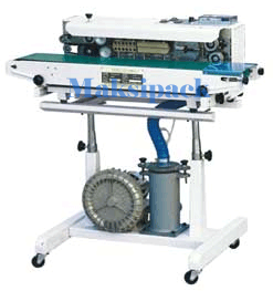 Continuous Sealer with Gas Filling