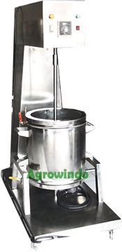 Mesin Mixer Pemanas Stainless Steel
