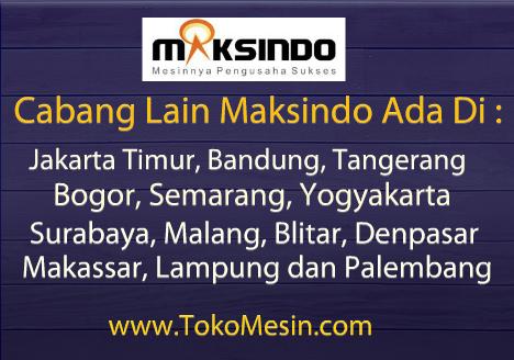 Toko Mesin Maksindo di Jakarta